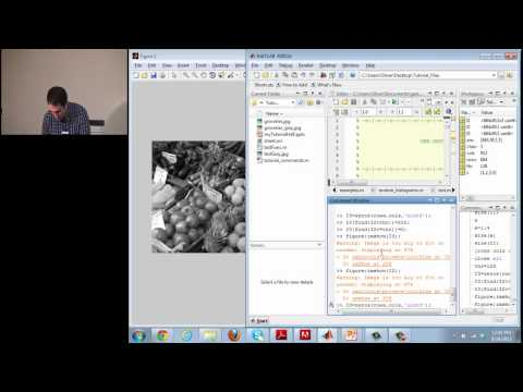 Matlab Tutorial Video