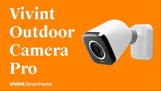 Vivint Outdoor Camera Pro: Clearly Smarter Protection