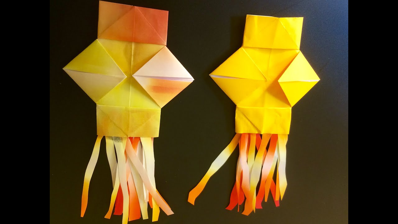Origami lantern for diwali fun and easy youtube for How to make paper lanterns easy