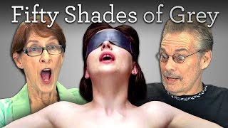 [Elders React to Fifty Shades of Grey Trailer] Video