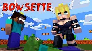 Monster School : BOWSETTE CHALLENGE - Minecraft Animation