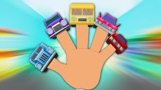Cars Finger Family   Nursery Rhymes For Babies   Kids Songs   Children Rhyme