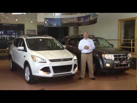 2013 Ford Escape vs. 2012 Ford Escape in Colorado Springs