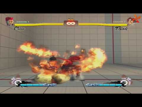 SSFIV Zero Damage!