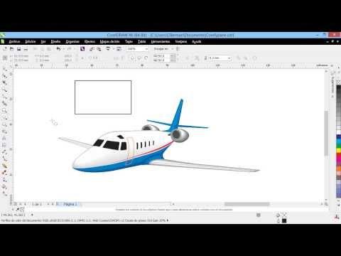 Curso Introducción a CorelDraw X6 - 07 La Barra de Propiedades u Opciones