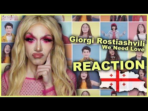 GEORGIA - Giorgi Rostiashvili - We Need Love | Junior Eurovision 2019 REACTION