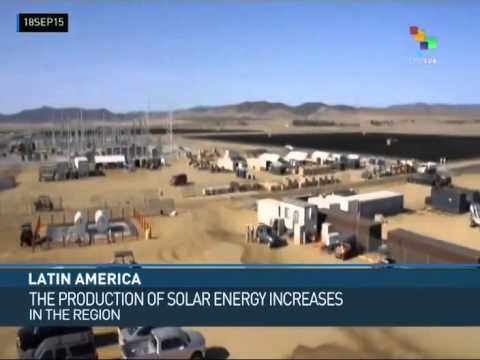 Use of Solar Energy Increases in Latin America