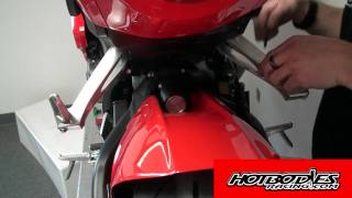 2008 CBR 1000RR Rear Tire Hugger Installation Guide Hotbodies Racing