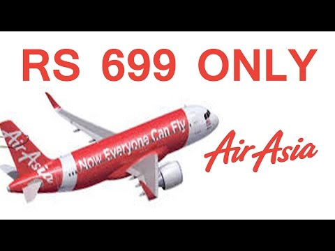 AirAsia India ticket at Rs 699  : Booking Online Offer Latest