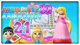 Let's Play MARIO PARTY 10 Part 21: Die Amiibo-Party von Prinzessin Peach