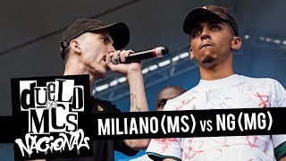 Miliano (MS) vs NG (MG) [FINAL] - Duelo de MCs Nacional 2018