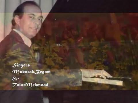 zara keh do fizaaon se..Mubarak Begam -Talat - Balkavi Bairagi...
