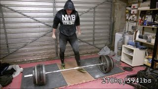 270kg/594lbs Deadlift x 2 REPS and Impulse Buys