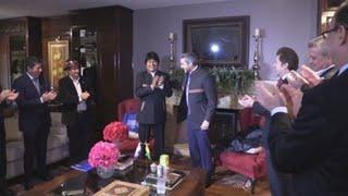 Presidente electo de Paraguay recibe a Evo Morales antes de su investidura