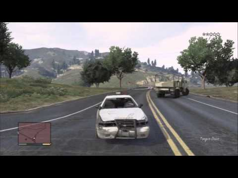 Gameplay gta 5: locuras con vehiculos, fails y jodiendo a la policia