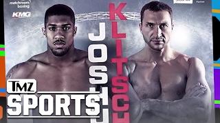 The Anthony Joshua vs Wladimir Klitschko Fight Will Be Epic! | TMZ Sports