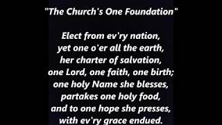 The Church's One Foundation * UPBEAT Hymn LYRICS WORDS BEST TOP SING ALONG SONGS