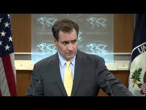 Kirby: Turkish self-defense Yes, shelling Kurds No. 18 Feb 2016