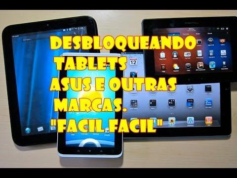 Desbloqueando Senha Padrao de Tablet Asus e Outras Marcas