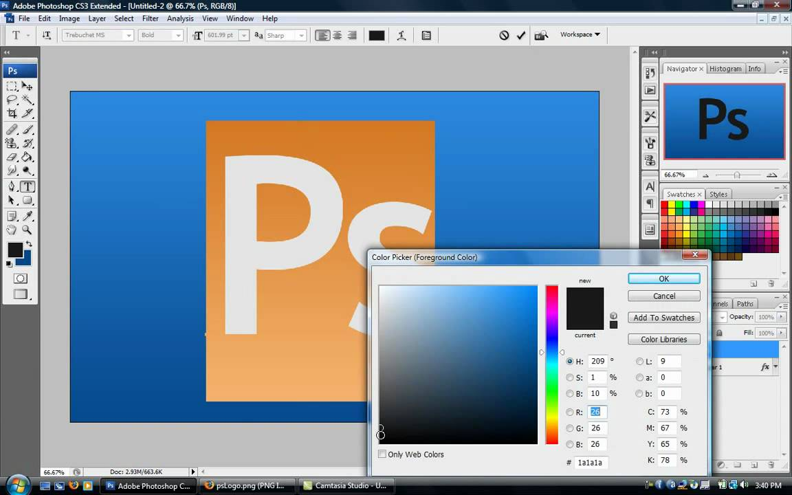Create logo with photoshop cs4 csgopolygon code free