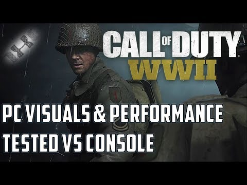 Call of Duty WW2: PC beta version tested against consoles