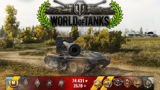 World of Tanks - Grille 15 - 13 Kills - 7.5k Damage - 1vs7 [Replay|HD]