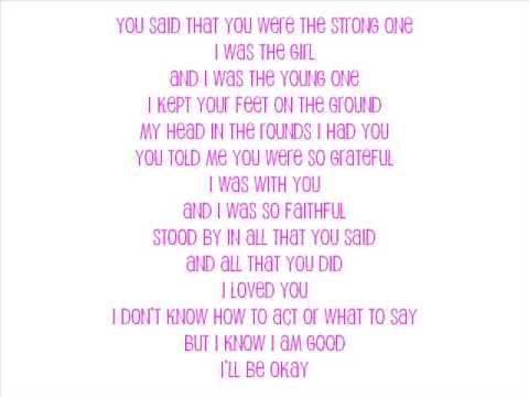 Ina - Fall with lyrics