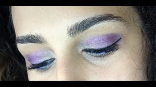 Purple Summer MakeUp - Flormar Passionate Dots EyeShadow