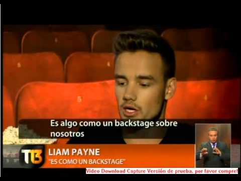 Entrevista one direction T13 Chile