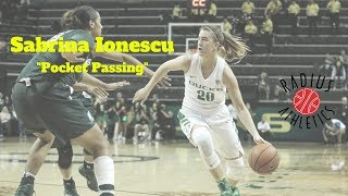 Sabrina Ionescu - Oregon Ducks - Pocket Passing