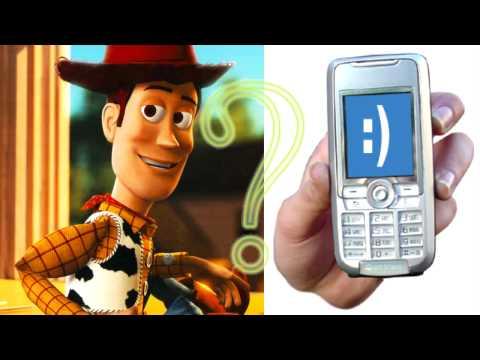 ¿Qué es lo que tiene Woody en su celular? - Chistes padrísimos - HD