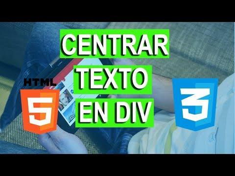 Download  texto centrado en un DIV html y css Gratis, download lagu terbaru