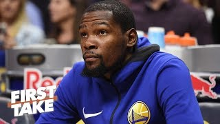 Kevin Durant would be smart to sign with the Nets over the Knicks – Max Kellerman | First Take