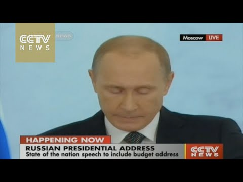Putin hits out at West in State of the Nation address