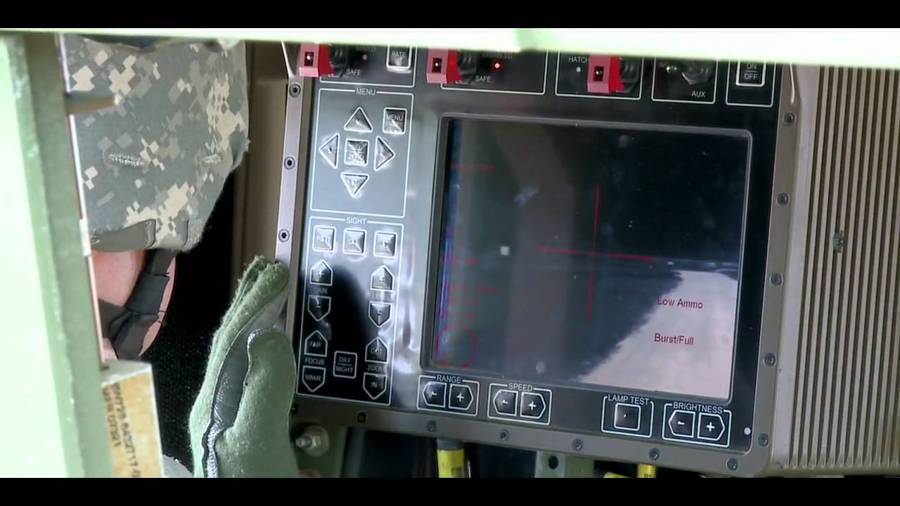 Common Remotely Operated Weapon Station Crows Youtube