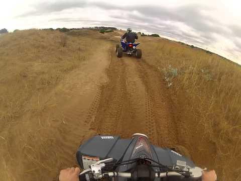 Andando en cuatri Pinamar - Faro Querandi Video 1
