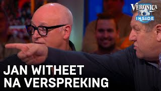 Jan witheet op Wilfred na verspreking: 'Chinesie?' | VERONICA INSIDE