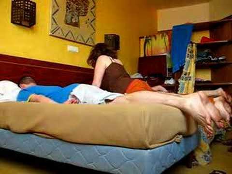 Délire sur le lit au sénégal
