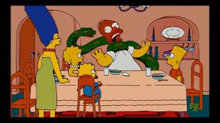 the Simpsons Homer strangels bart season 2-26 in funny voice
