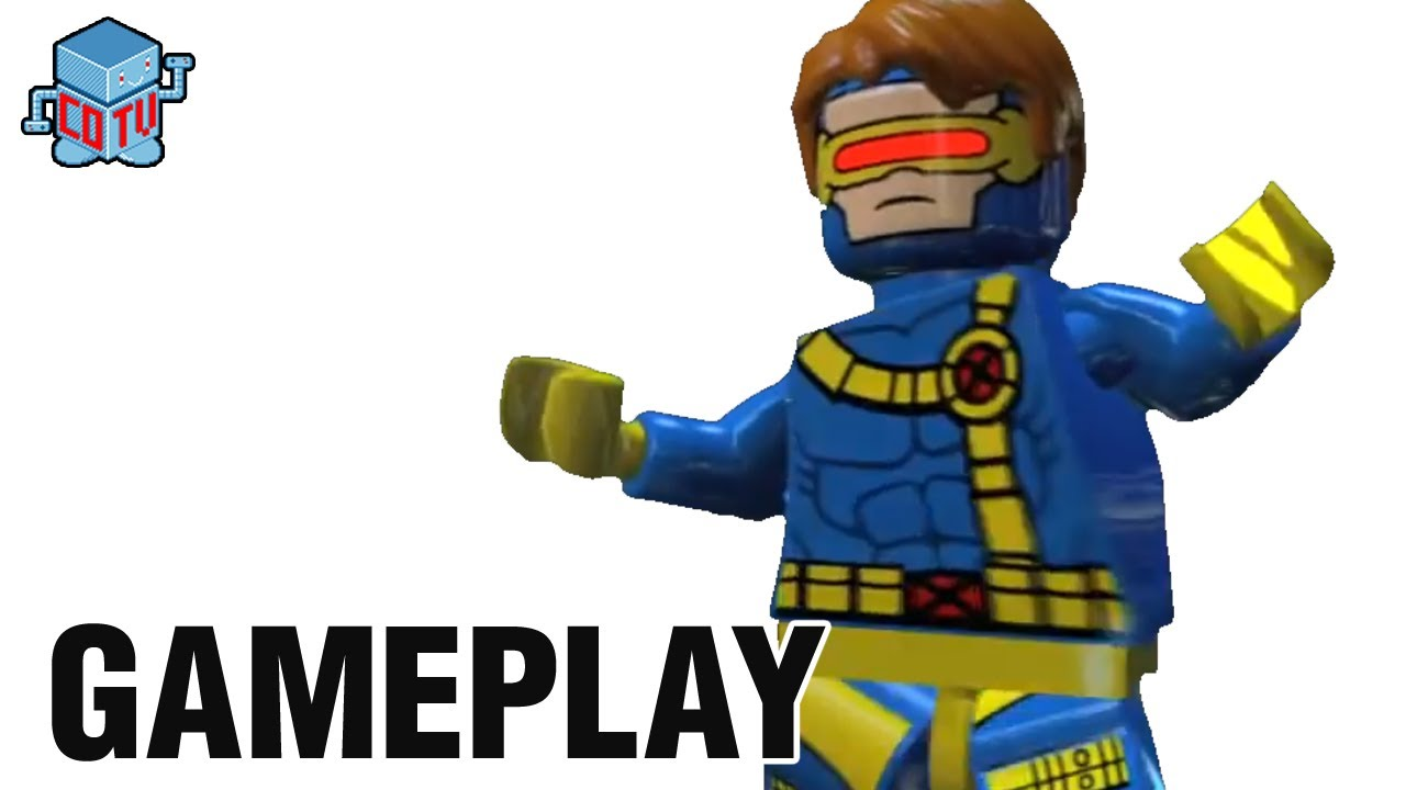 lego marvel cyclops phoenix emma frost gameplay youtube