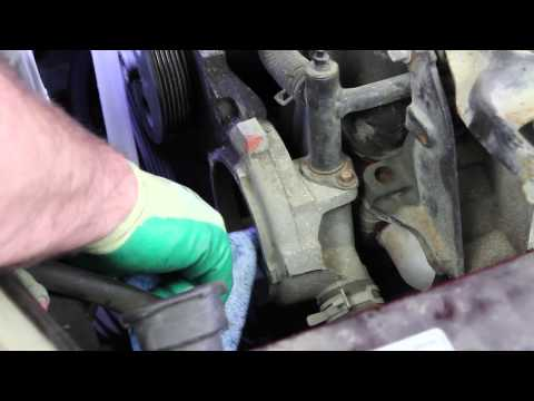 How to install a Water Pump: 2000 - 2004 Chevrolet Impala 3.4L V6 WP-625 AW5033