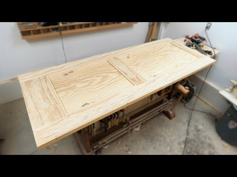 How To Make A REAL Door From Plywood