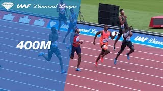 Abdalleleh Haroun 44.07 Wins Men's 400m - IAAF Diamond League London 2018