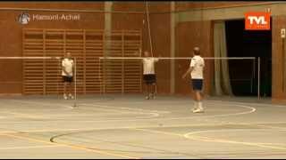 video uit Nieuwe sportvloer in de sporthal