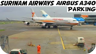 Surinam Airways Schiphol Parking HD