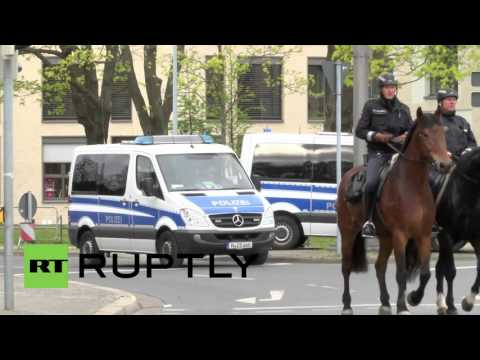 Germany: Heightened security in Hannover ahead of Obama visit