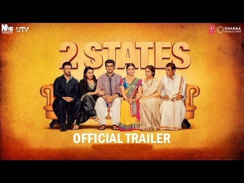 2 States I Official Trailer I Alia Bhatt I Arjun Kapoor video