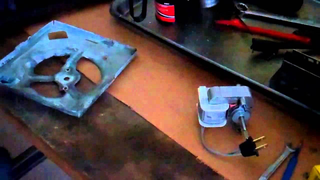 Bathroom Fan Motor Wiring Diagram : Replacing a broan ventilation fan motor youtube