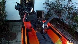Fishing Kayak Rigging - Wilderness Thresher 140 (Part 3) Fitting a Fish Finder and GPS