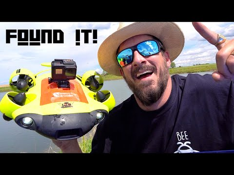 ROV SUB finds DRONE LOST 6 YEARS AGO in DEEP WATER! QYSEA FiFiSH V6 - SiX THRUSTERS!   RC ADVENTURES